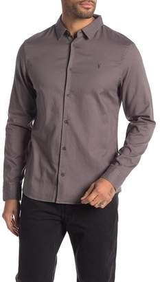 AllSaints Bixby Long Sleeve Regular Fit Shirt