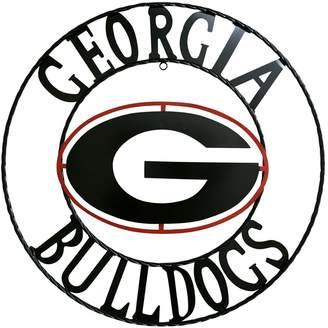 Georgia Bulldogs 24-Inch Wrought Iron Wall Decor