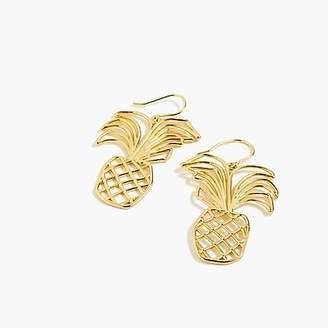 J.Crew Pineapple earrings