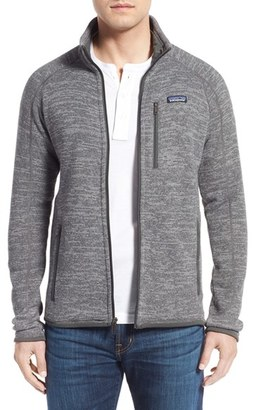 Men's Patagonia 'Better Sweater' Zip Front Jacket $139 thestylecure.com