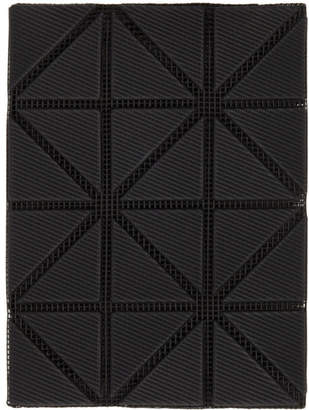 Bao Bao Issey Miyake Black Bifold Card Holder