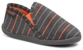 Isotoner Kids's Mocassin Slippers In Grey - Size Uk 1 / Eu 33