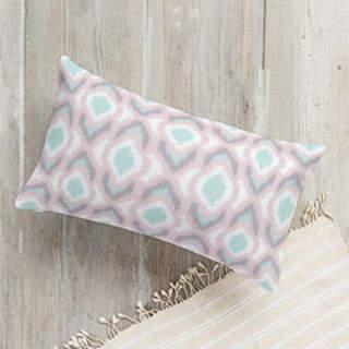 Pastel Ikat Self-Launch Lumbar Pillows