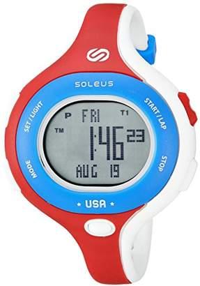 Soleus Chicked Women's 'Signature Series' Quartz Plastic Running Watch