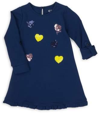 GUESS Little Girl's Embellished Ponte Dress