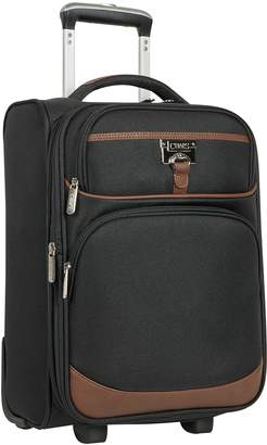 Chaps Saddle Haven 17-Inch Expandable Softside Wheeled Luggage