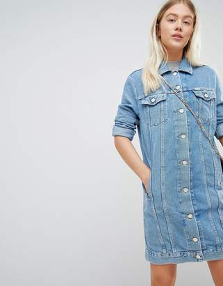 Wrangler Denim Trucker Dress