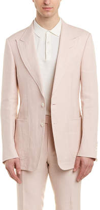 Tom Ford Shelton 2Pc Linen Suit With Flat Pant