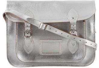 Cambridge Silversmiths Satchels Metallic Messenger Bag