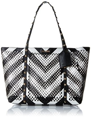 Steve Madden Bbelaa Perforate Tote Bag $98 thestylecure.com