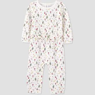Carter's Just One You made by carter Baby Girls' Floral Romper - Just One You® made by Cream