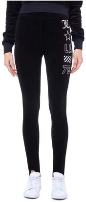 Juicy Couture Stretch Velour JCLA Stirrup Legging