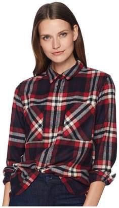 Pendleton Piper Cropped Wool Shirt Women's Clothing