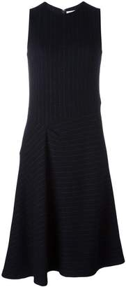 08sircus pinstripe asymmetric skirt dress
