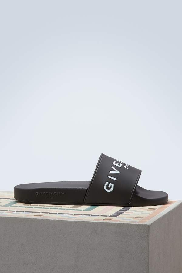 Givenchy Paris Slide sandals