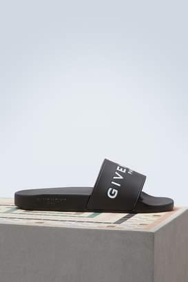 Givenchy Paris Slide sandals