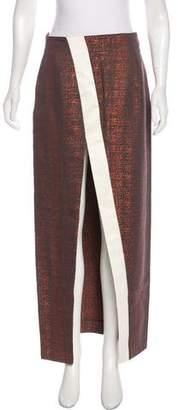 SOLACE London Brocade Midi Skirt