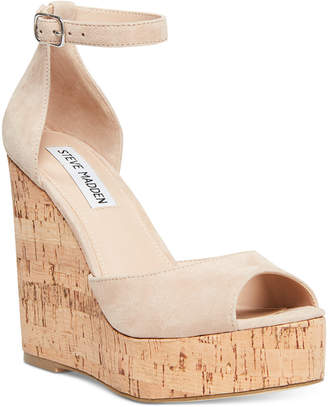 93986d90a68 Nude Summer Wedges - ShopStyle
