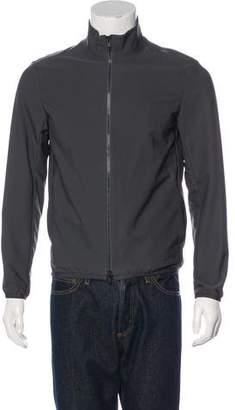 Theory Woven Zip Jacket