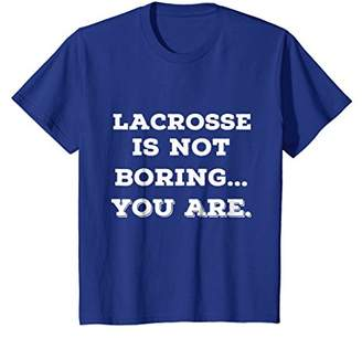 LaCrosse Best T Shirts. Cool Funny Gifts for Players.