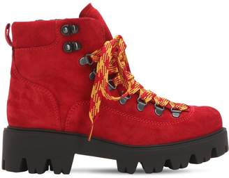 30mm Suede Hiking Boots