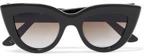 Ellery Cat-Eye Acetate Sunglasses