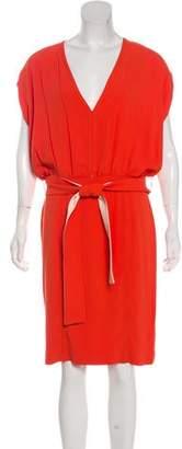 Fendi Belted Midi Dress