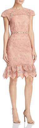 Saylor Zigzag Lace Dress