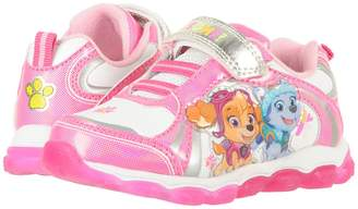 Josmo Kids Paw Patrol Lighted Sneaker Girl's Shoes