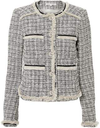 Veronica Beard Eclipse Metallic Tweed Jacket