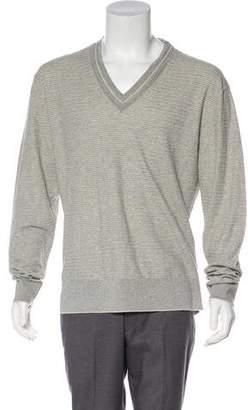 Tom Ford Silk-Blend V-Neck Sweater