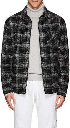 Aztech Mountain Men's Lenado Plaid Wool-Blend Shirt Jacket