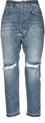 (+) People + PEOPLE Denim pants - Item 42719503TN