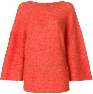 By Malene Birger flared sleeve knit jumper
