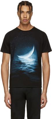 Saint Laurent Black Moon T-Shirt $590 thestylecure.com