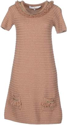 Elisabetta Franchi GOLD Short dresses