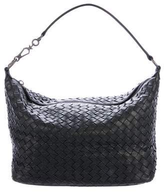 Bottega Veneta Intrecciato Leather Hobo