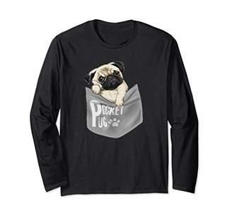 t shirt dog new pug very cute tee shirt Long Sleeve T-Shirt