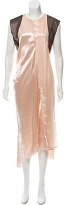 Reed Krakoff Satin Maxi Dress