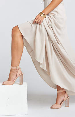 Show Me Your Mumu Dolce Vita ~ Hades Ankle-Strap Sandals ~ Rose Suede
