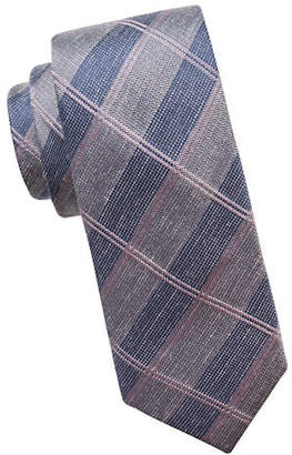 Vince Camuto Plaid Slim Tie