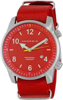 Android Men's AD377BR Octopuz with Nylon Strap Watch