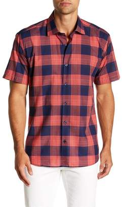 Jared Lang Short Sleeve Slim Fit Shirt