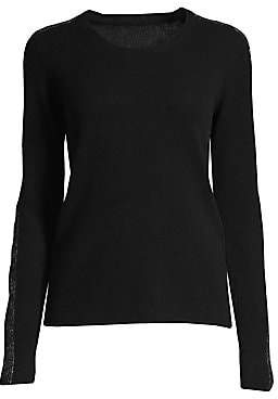 ATM Anthony Thomas Melillo Women's Sparkle Cashmere Crewneck Sweater