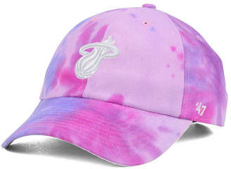 '47 Miami Heat Pink Tie-Dye Clean Up Cap