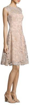 Tadashi Shoji Lace Sleeveless Dress $475 thestylecure.com