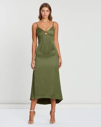 Atmos & Here Cut-Out Maxi Dress