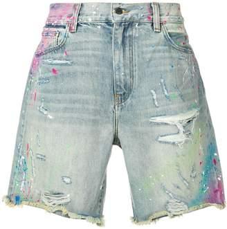 Amiri distressed vintage shorts
