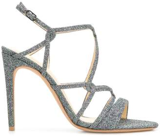 Alexandre Birman glitter strappy sandals