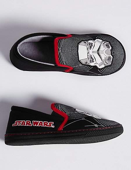 Kids' Star WarsTM Slippers (13 Small - 7 Large)